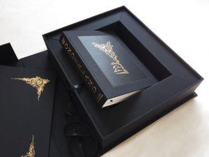 wonderland book in box
